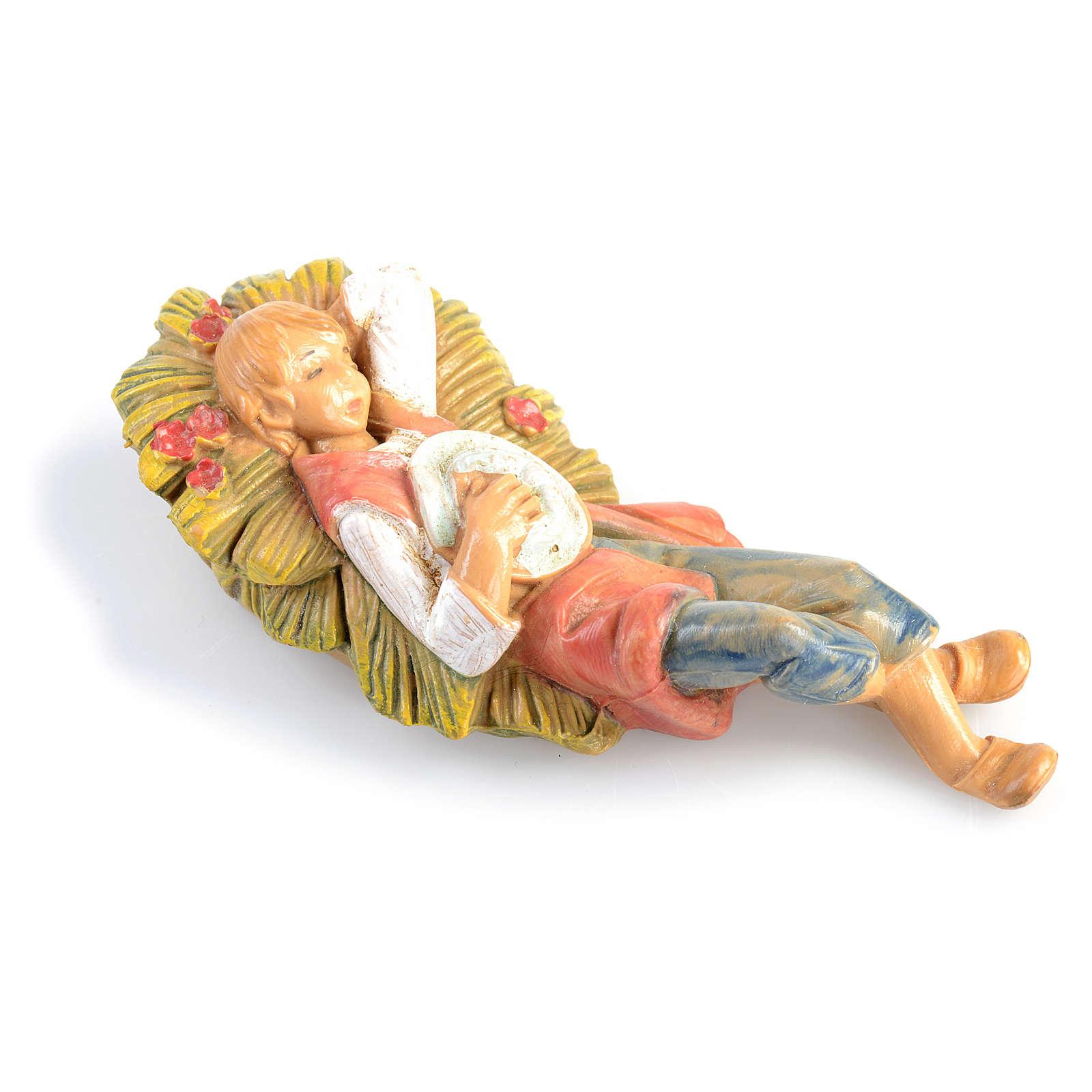 Pastor dormido Fontanini de 6,5cm. 4