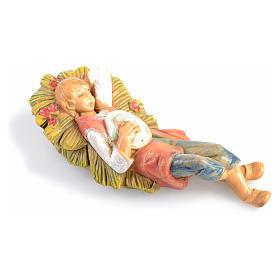 Pastor dormido Fontanini de 6,5cm. s2