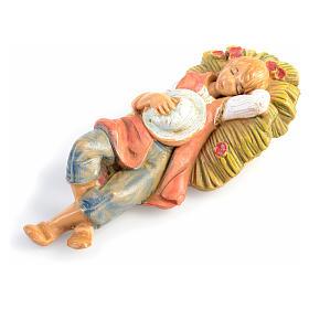 Garçon endormi crèche 6,5 cm Fontanini s1