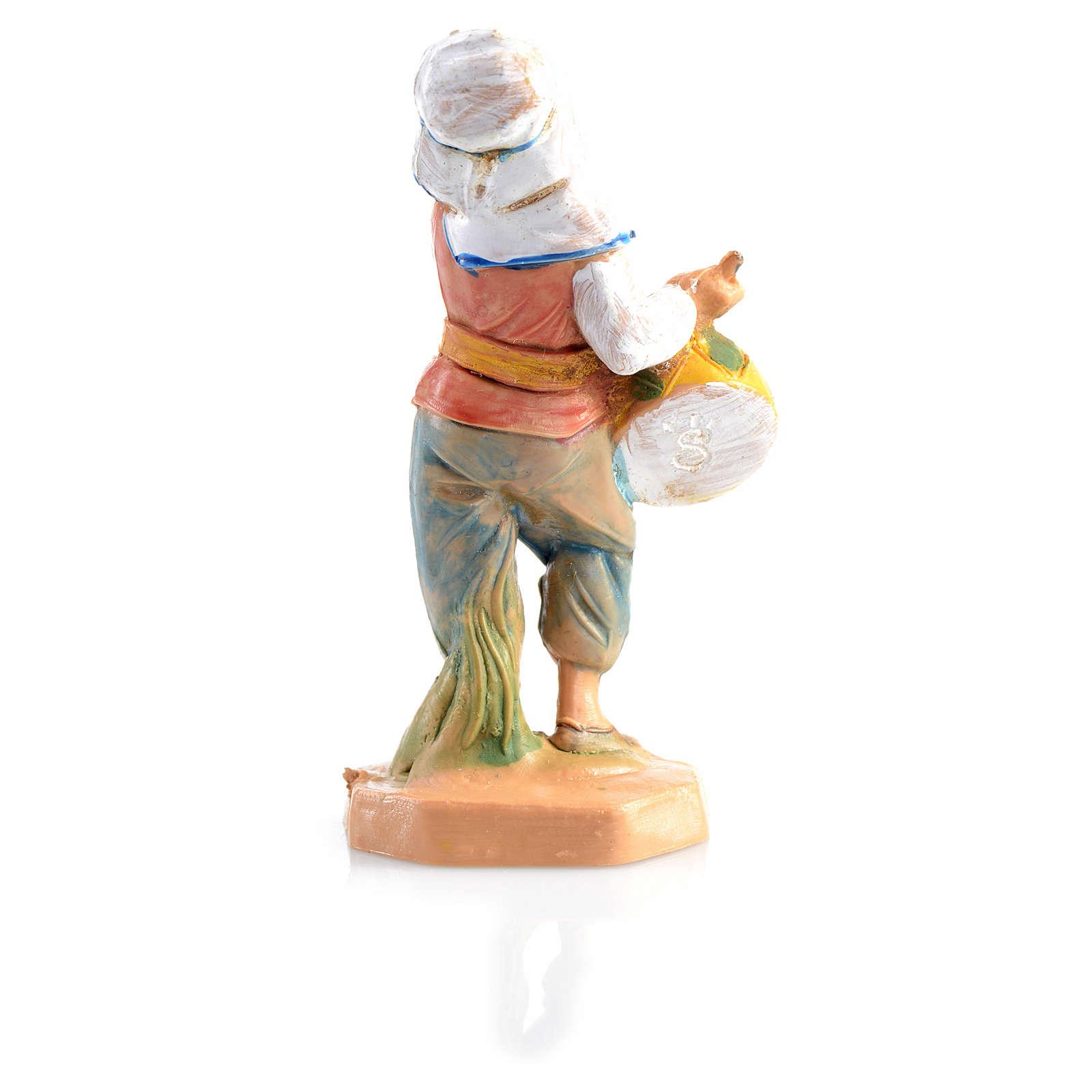 Pastorello con tamburo Fontanini 6.5 cm 3