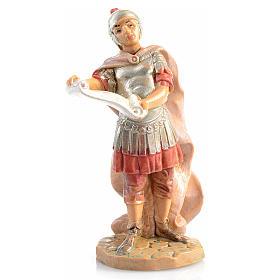 Santons crèche: Soldat roman avec parchemin crèche Fontanini 6,5 cm