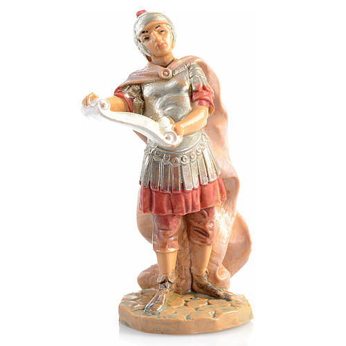 Soldato romano con pergamena Fontanini 6.5 cm 1