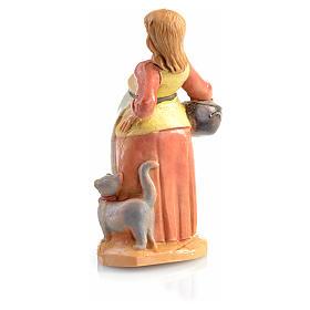 Donna incinta presepe Fontanini 6.5 cm s2