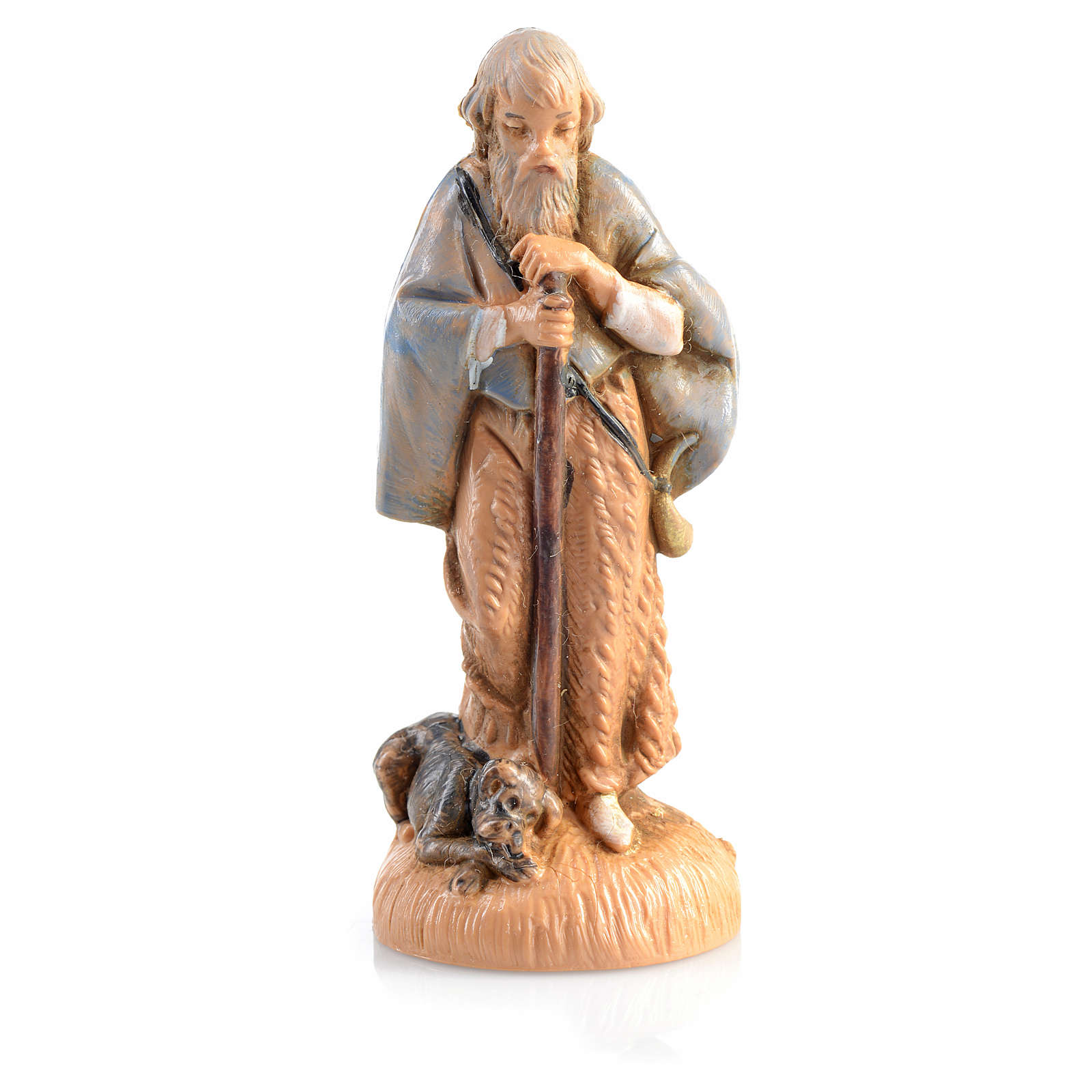 Pastor con perrito Fontanini de 6,5cm 3