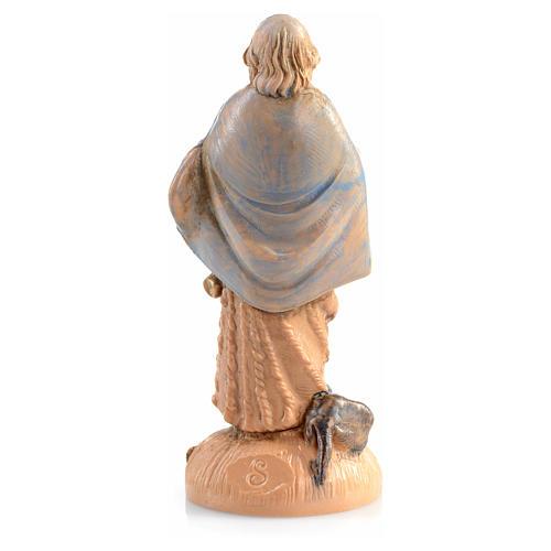 Pastor con perrito Fontanini de 6,5cm 2