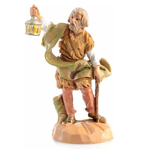 Pastor con lámpara Fontanini de 6,5cm 1