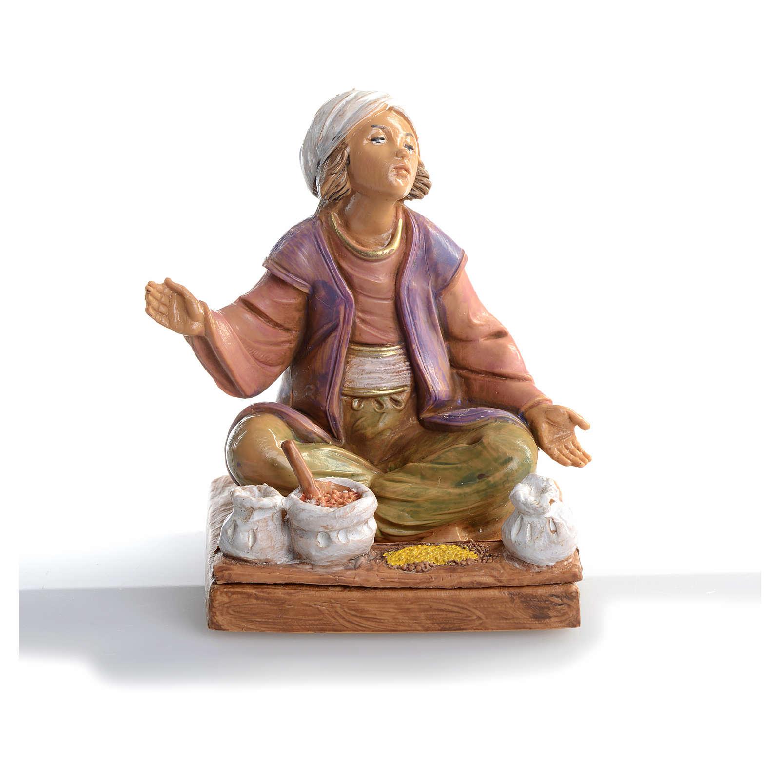 Épicier avec épices crèche 12 cm Fontanini 3