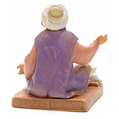 Droguista com especiarias para Presépio Fontanini com figuras de altura média 12 cm 4