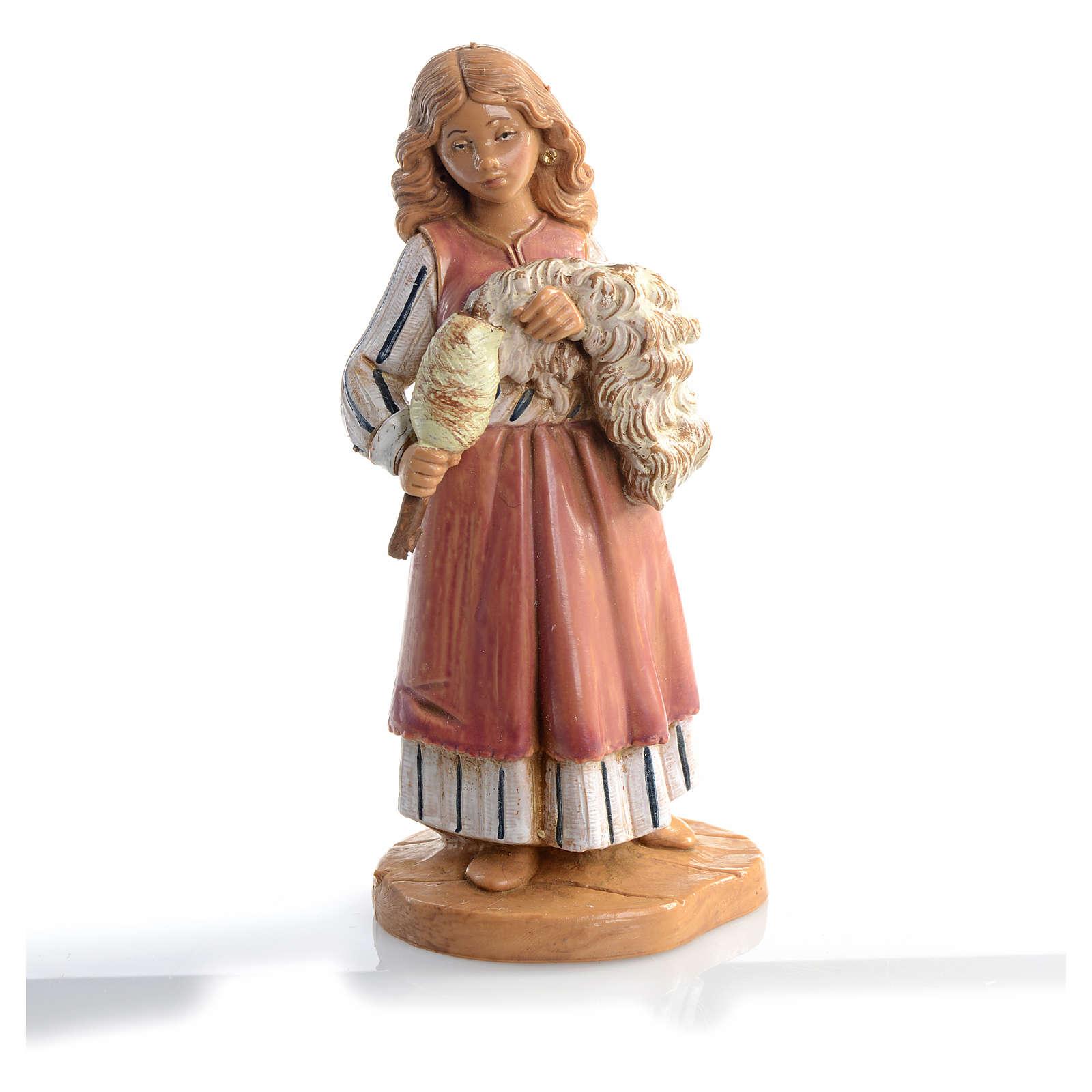 Pastora que teje 12 cm Fontanini 4