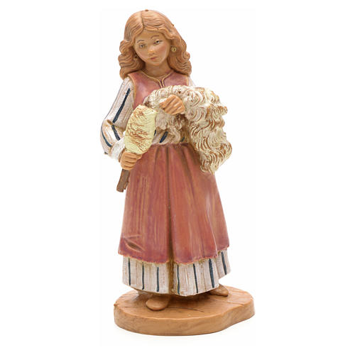Pastora que teje 12 cm Fontanini 11