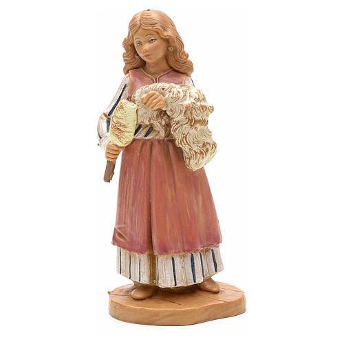 Pastora que teje 12 cm Fontanini 3