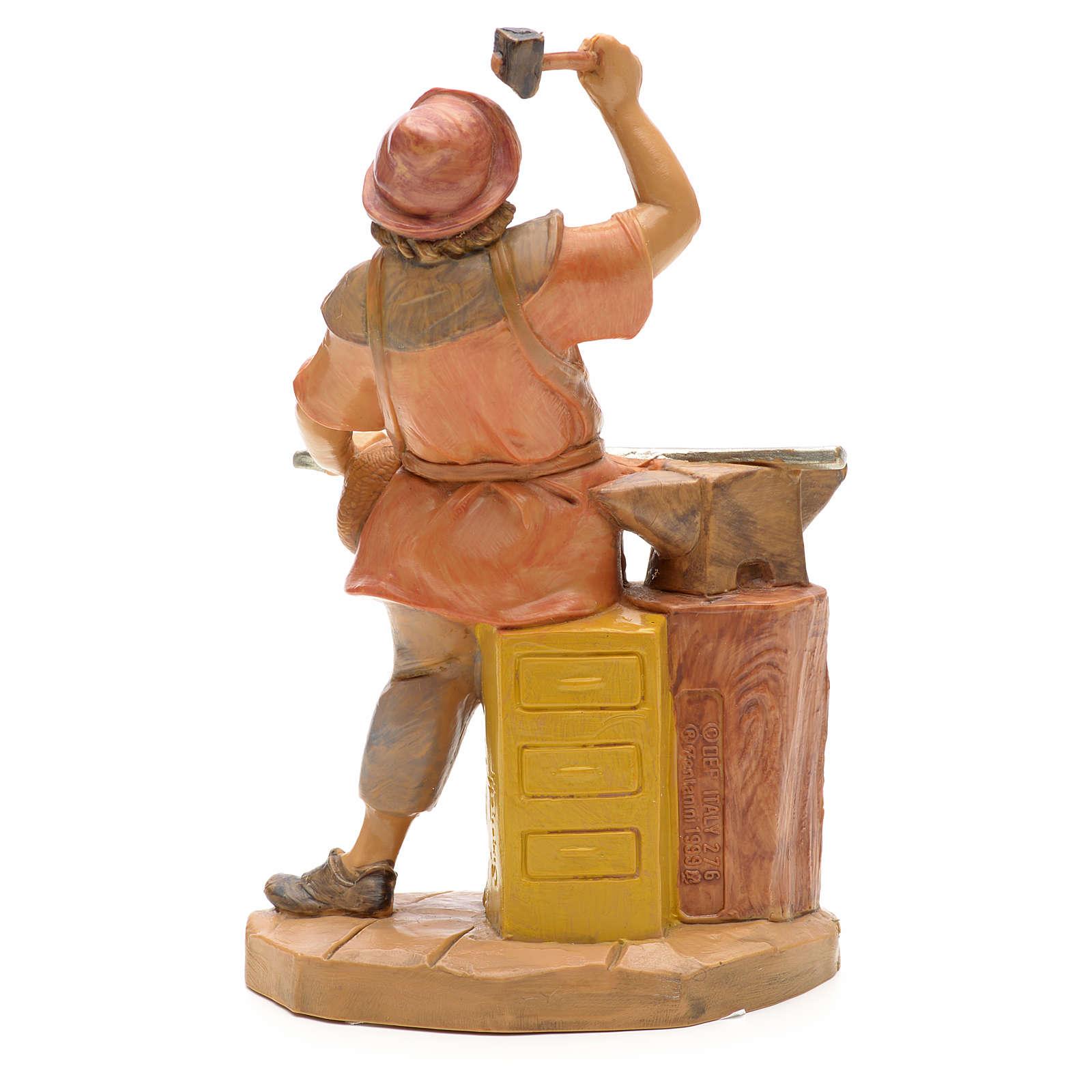 Ferreiro para Presépio Fontanini com figuras de altura média 12 cm 3