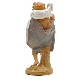 Pastore pecora in spalla 19 cm Fontanini s2
