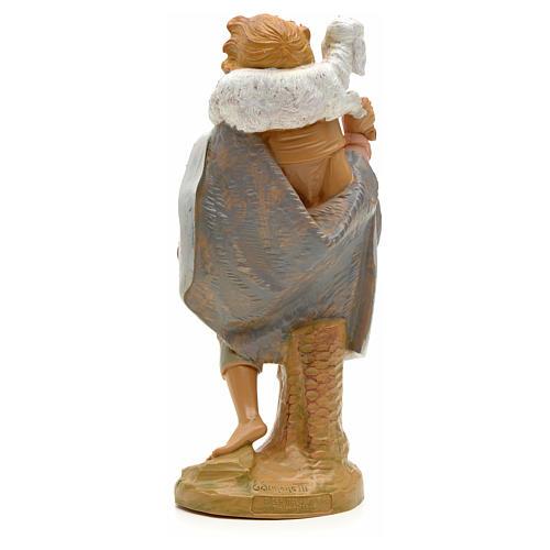 Pastore pecora in spalla 19 cm Fontanini 2