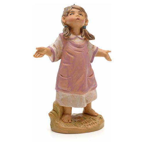 Petite fille crèche Fontanini 19 cm 1