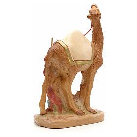 Camellero con camello para belén Fontanini con figuras de altura media 19 cm s3