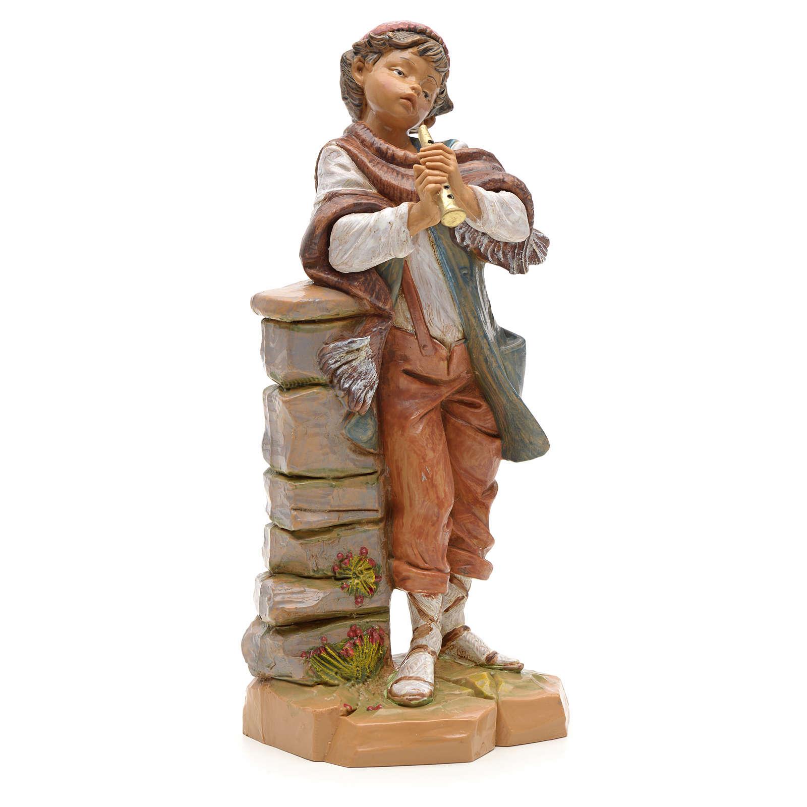 Pasterz z fletem prostym 19 cm Fontanini 3
