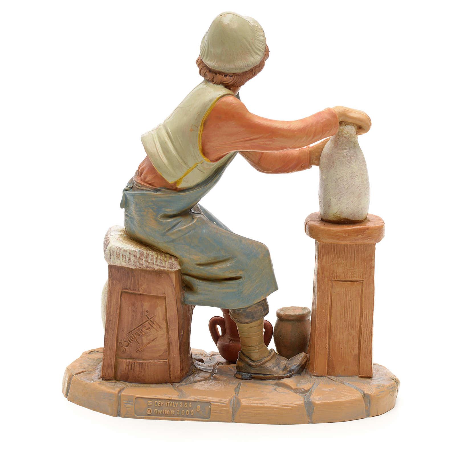 Ceramista 19 cm Fontanini 3