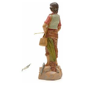 Pêcheur à la ligne crèche Fontanini 19 cm s2