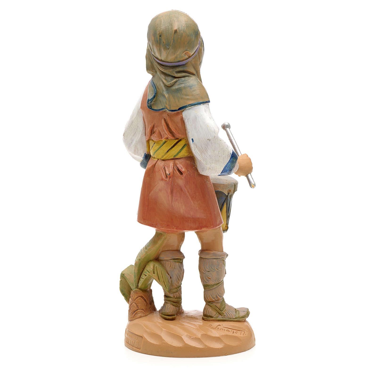Pasterz z bębenkiem 19 cm Fontanini 3