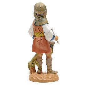 Pasterz z bębenkiem 19 cm Fontanini s2