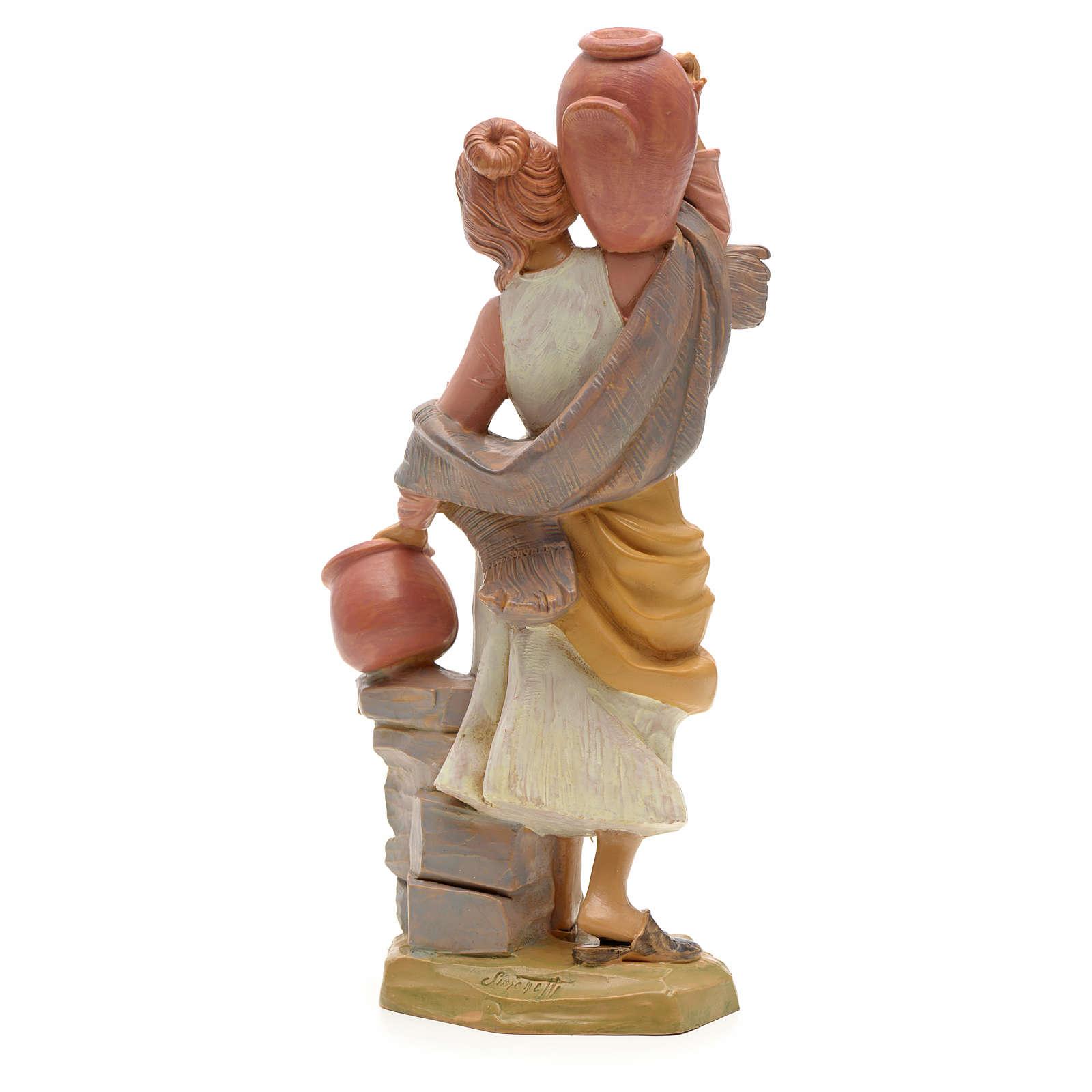 Pastora con jarras 19cm Fontanini 3