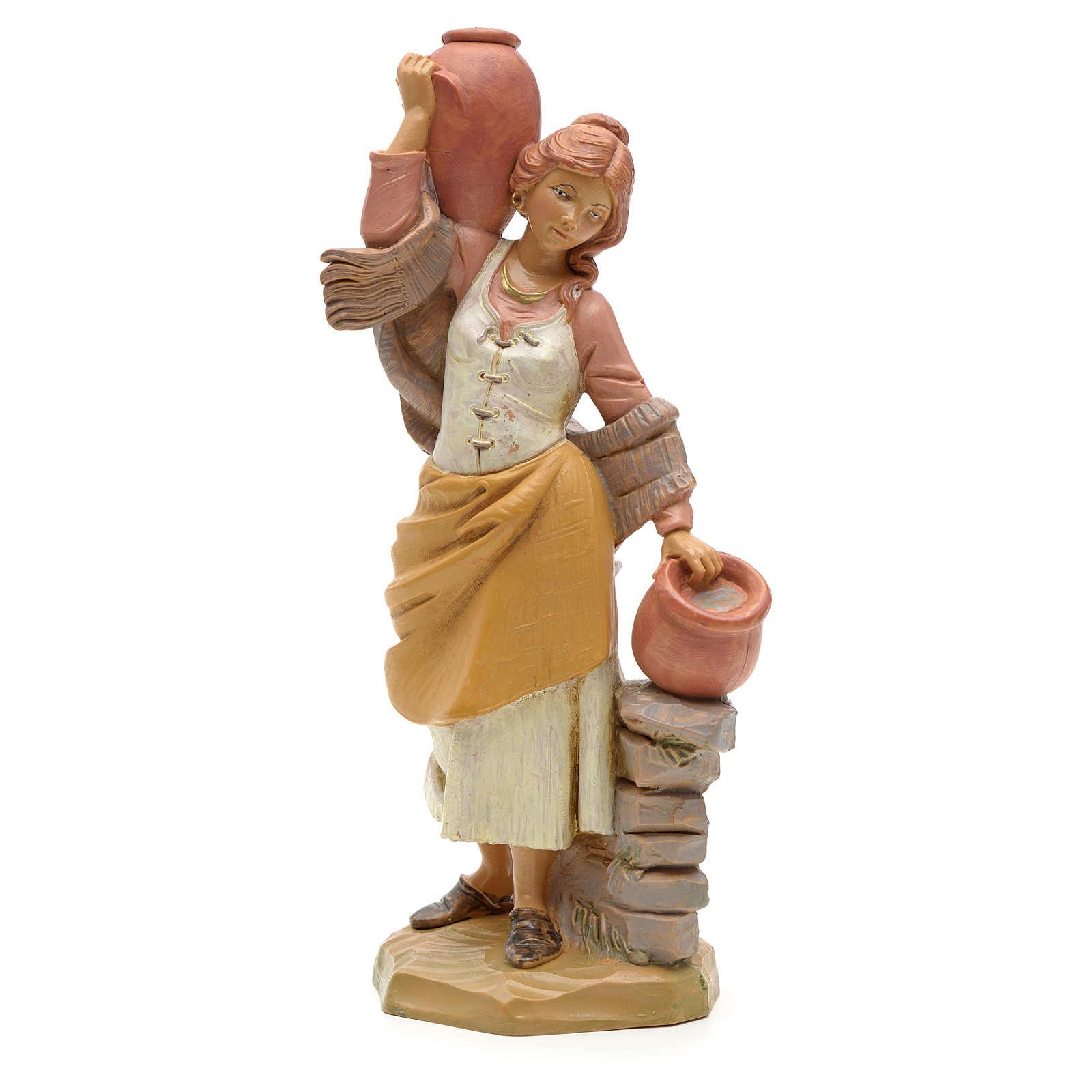 Porteuse de cruches crèche Fontanini 19 cm 3