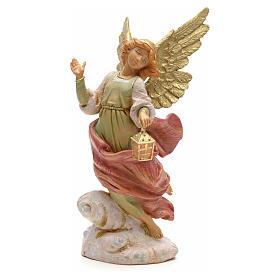 Ángel con la linterna 19cm Fontanini s1
