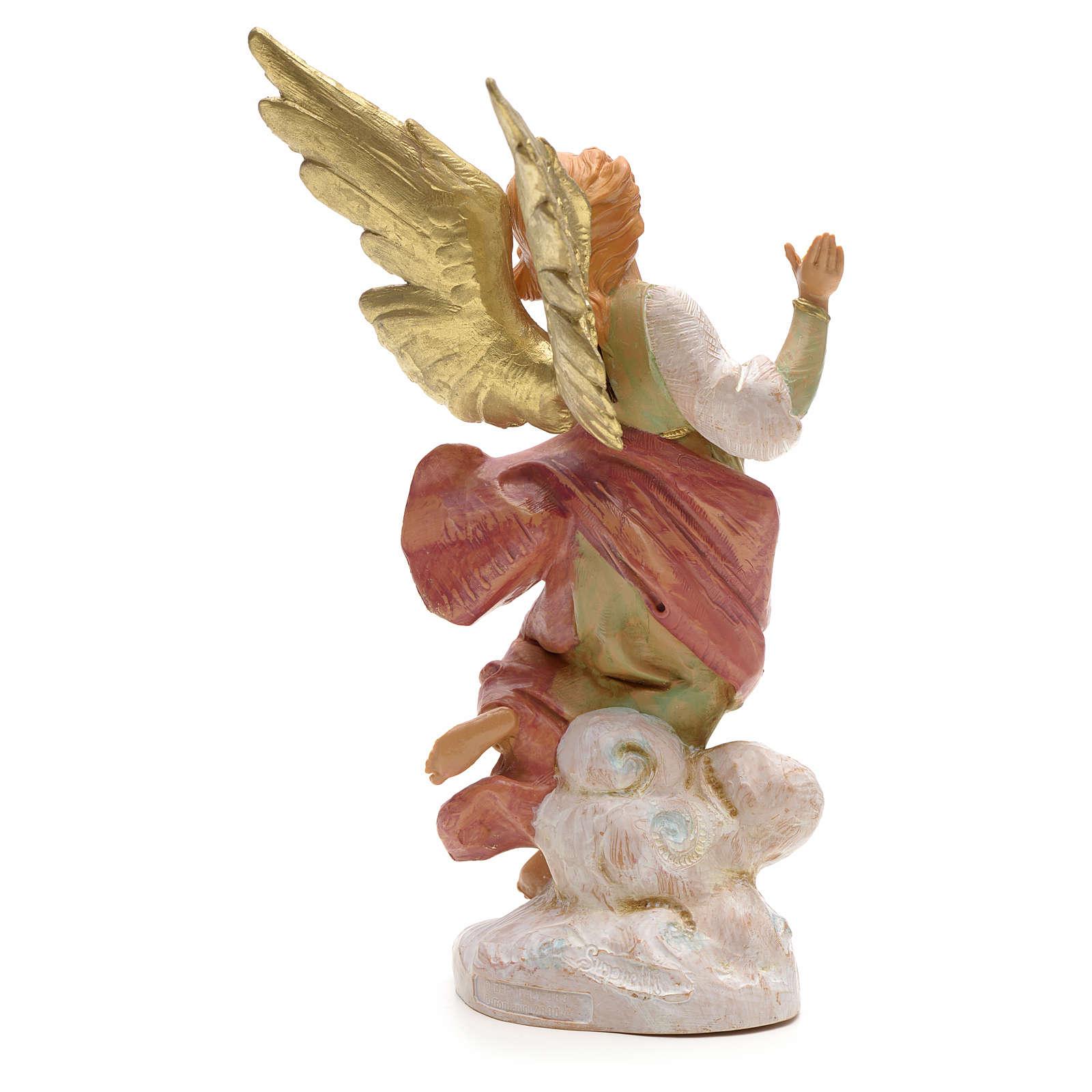 Ange avec sa lanterne crèche Fontanini 19 cm 3