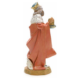 Rei Mago branco presépio 19 cm Fontanini s2