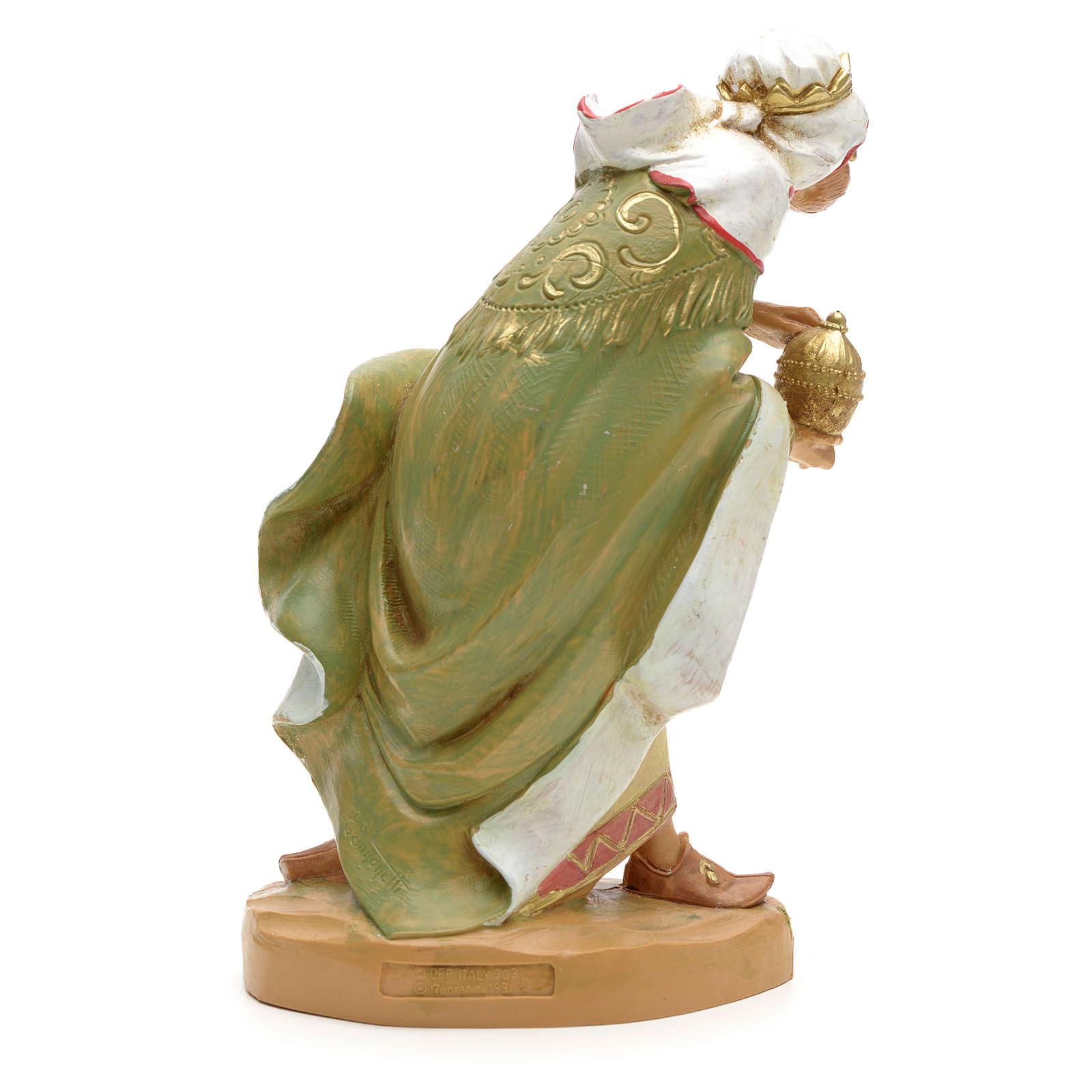 Król Mędrzec mulat 19 cm Fontanini 4