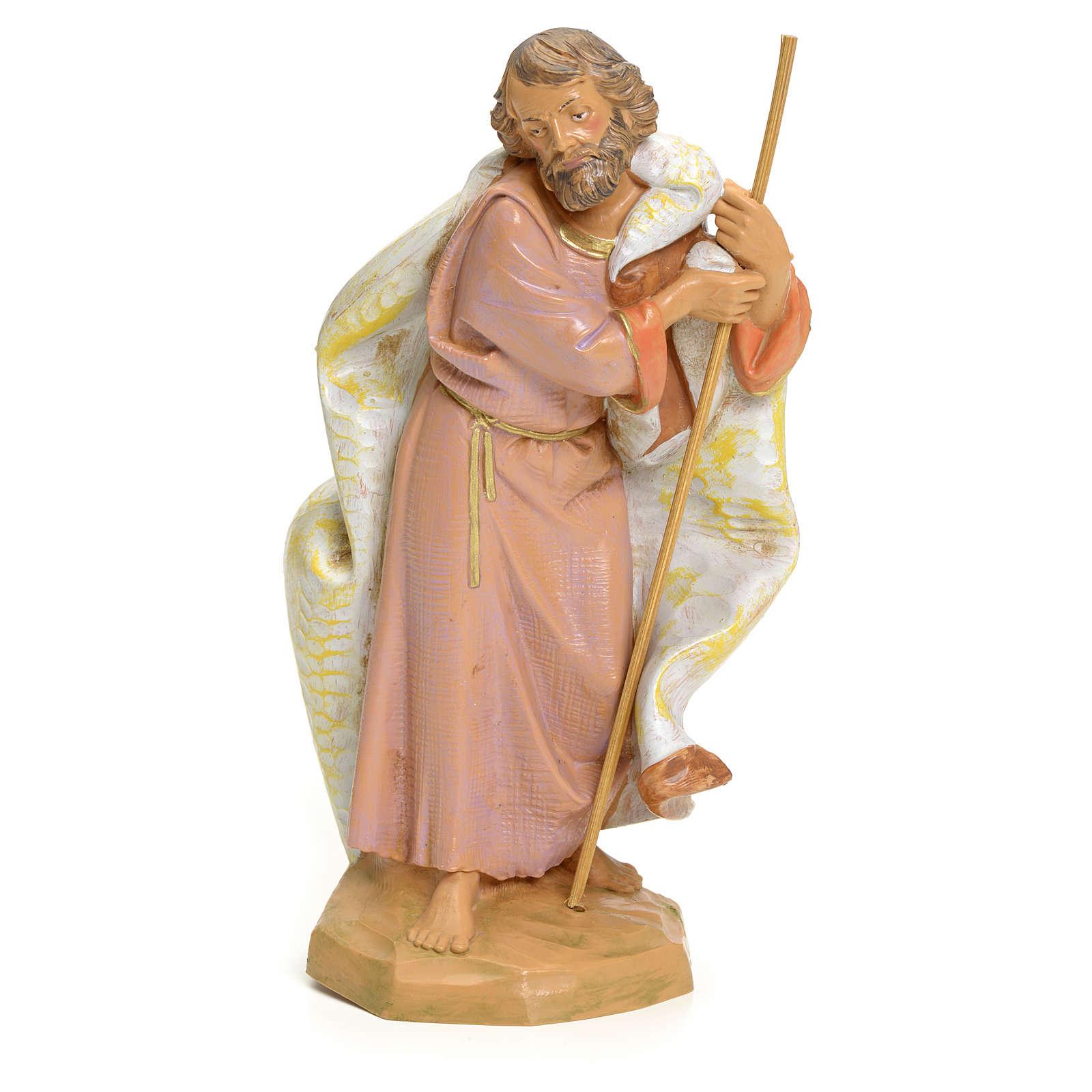 Saint Joseph crèche Fontanini 19 cm 3