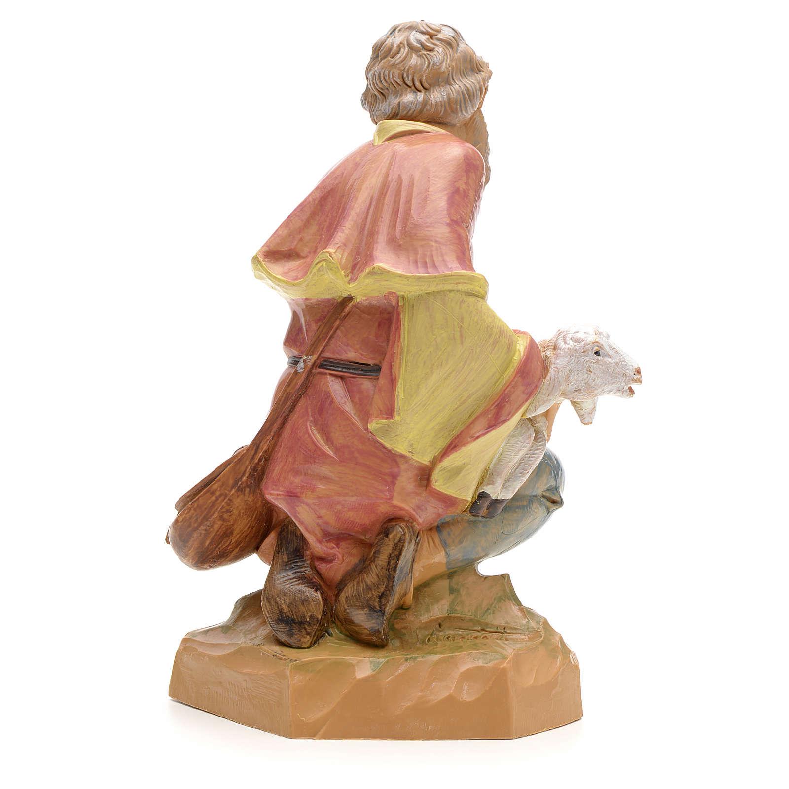 Pastore in ginocchio 19 cm Fontanini 3
