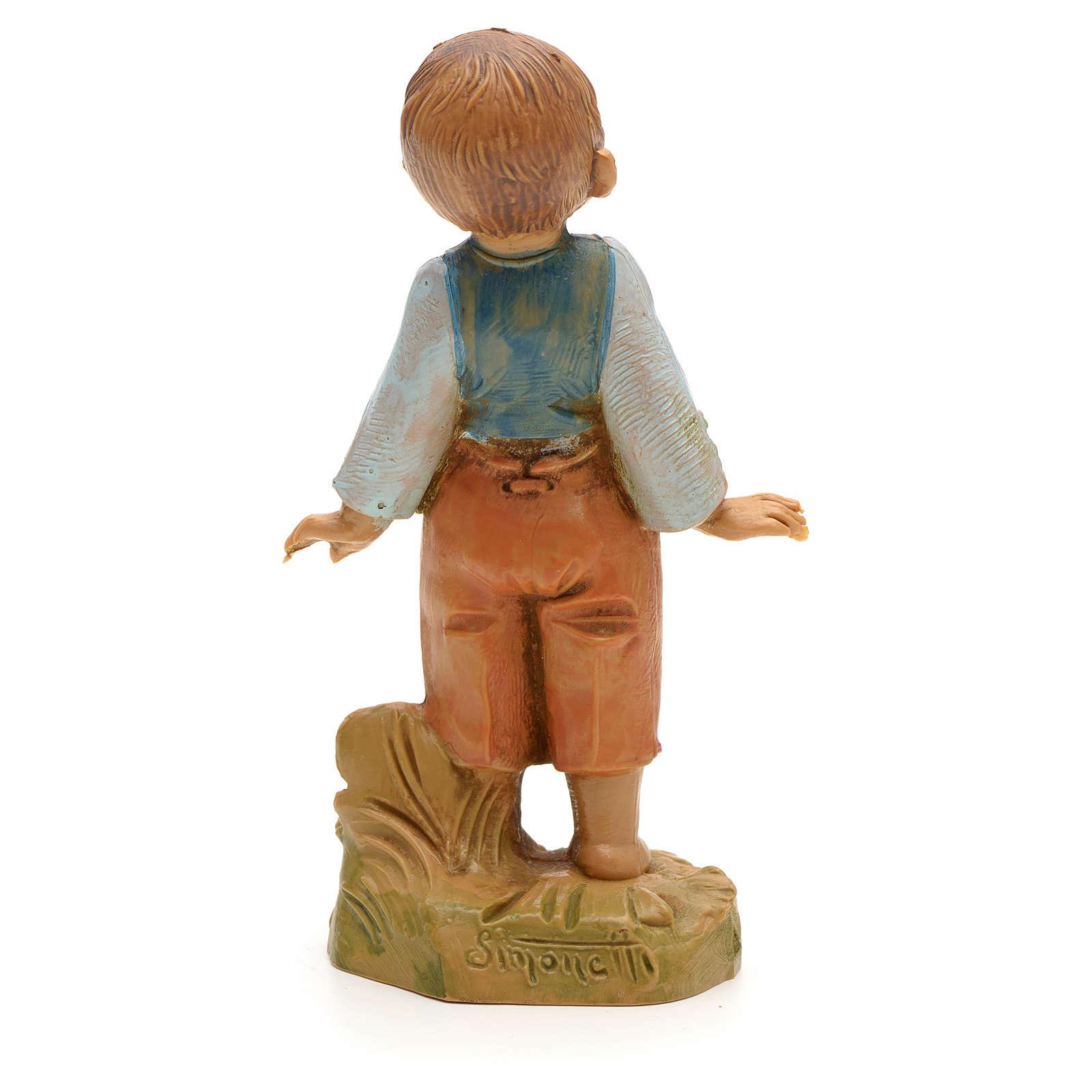 Niño pequeño pesebre 19cm Fontanini 4