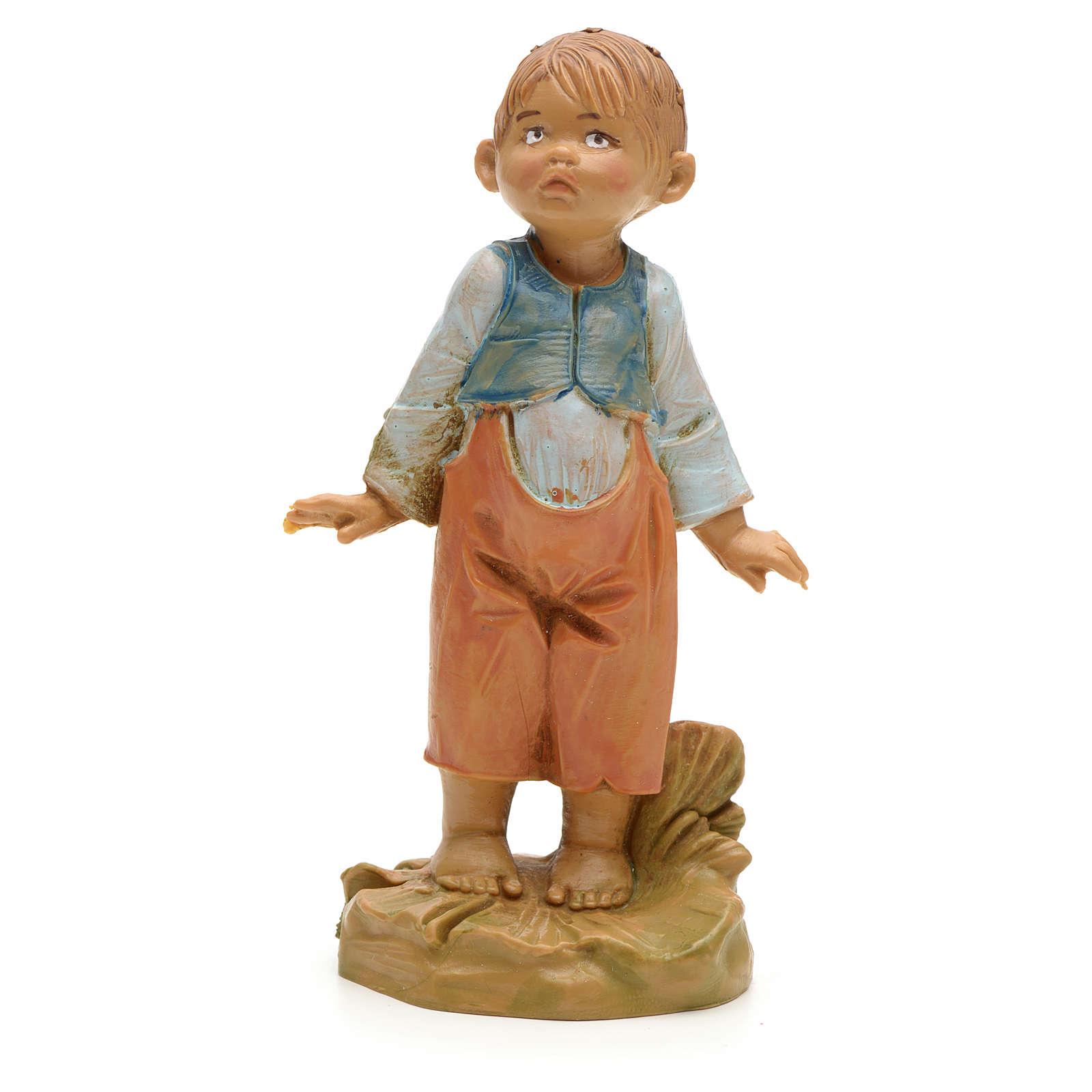 Bambino piccolo presepe 19 cm Fontanini 4