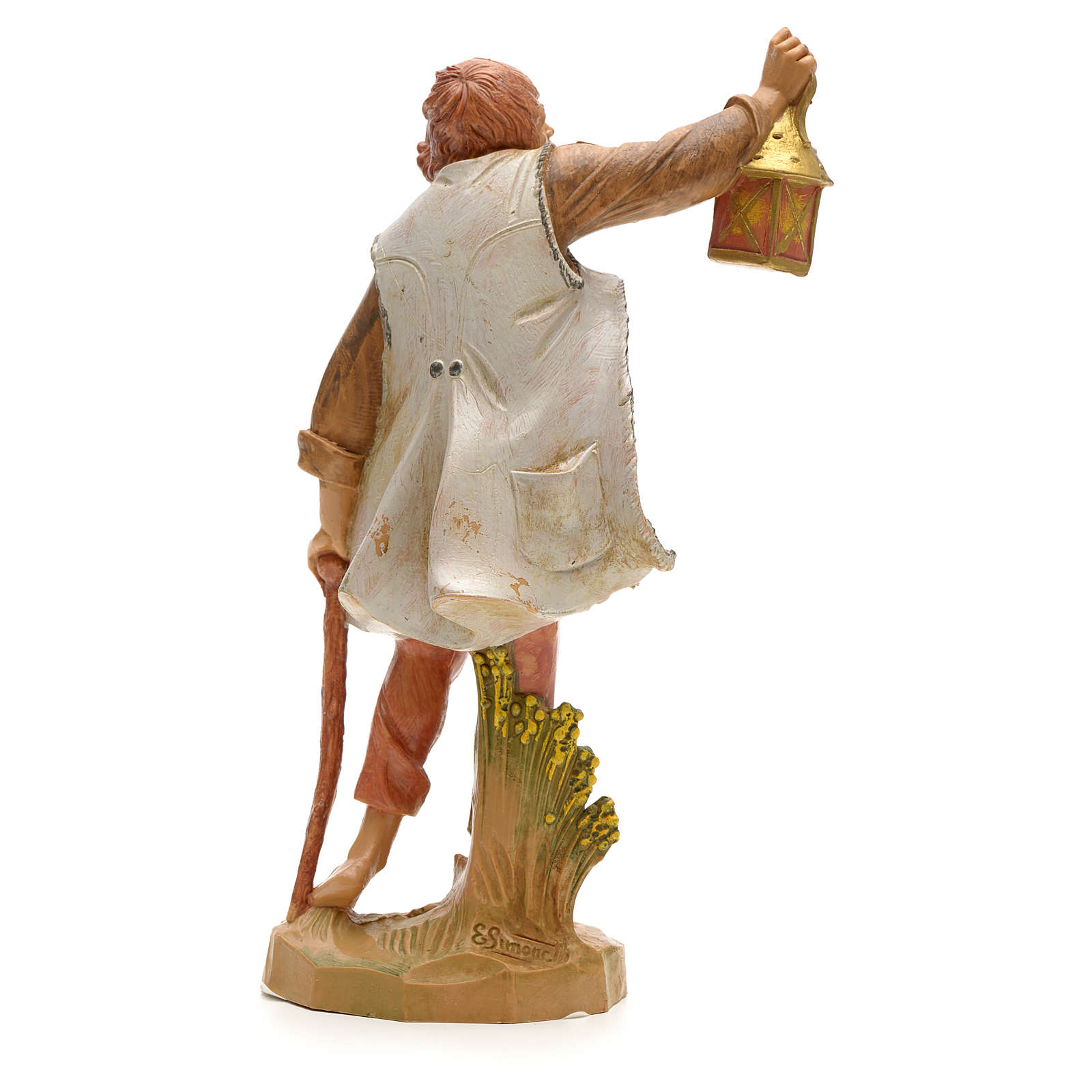 Pastor con linterna 19cm Fontanini 4