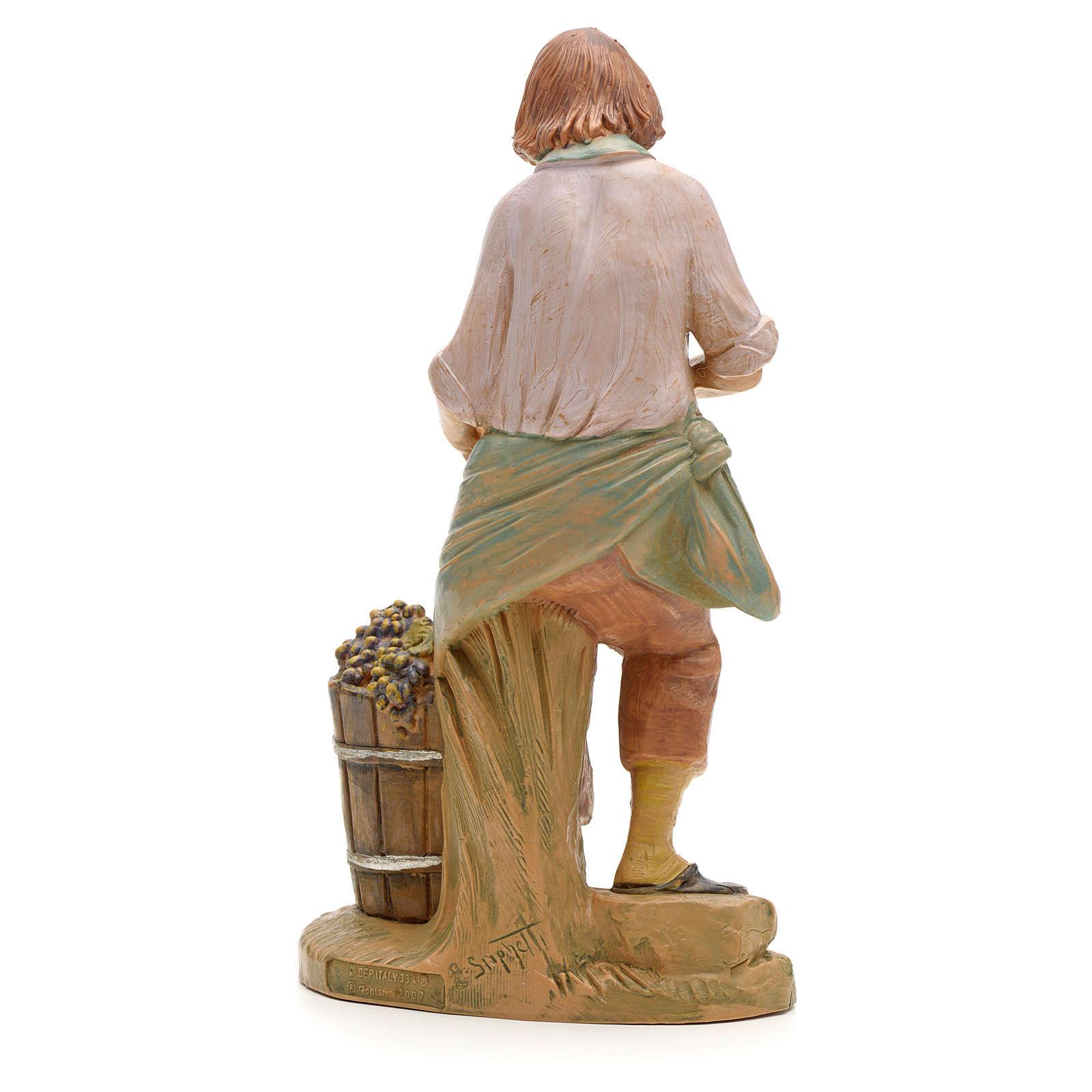 Vendemmiatore presepe da 19 cm Fontanini 3