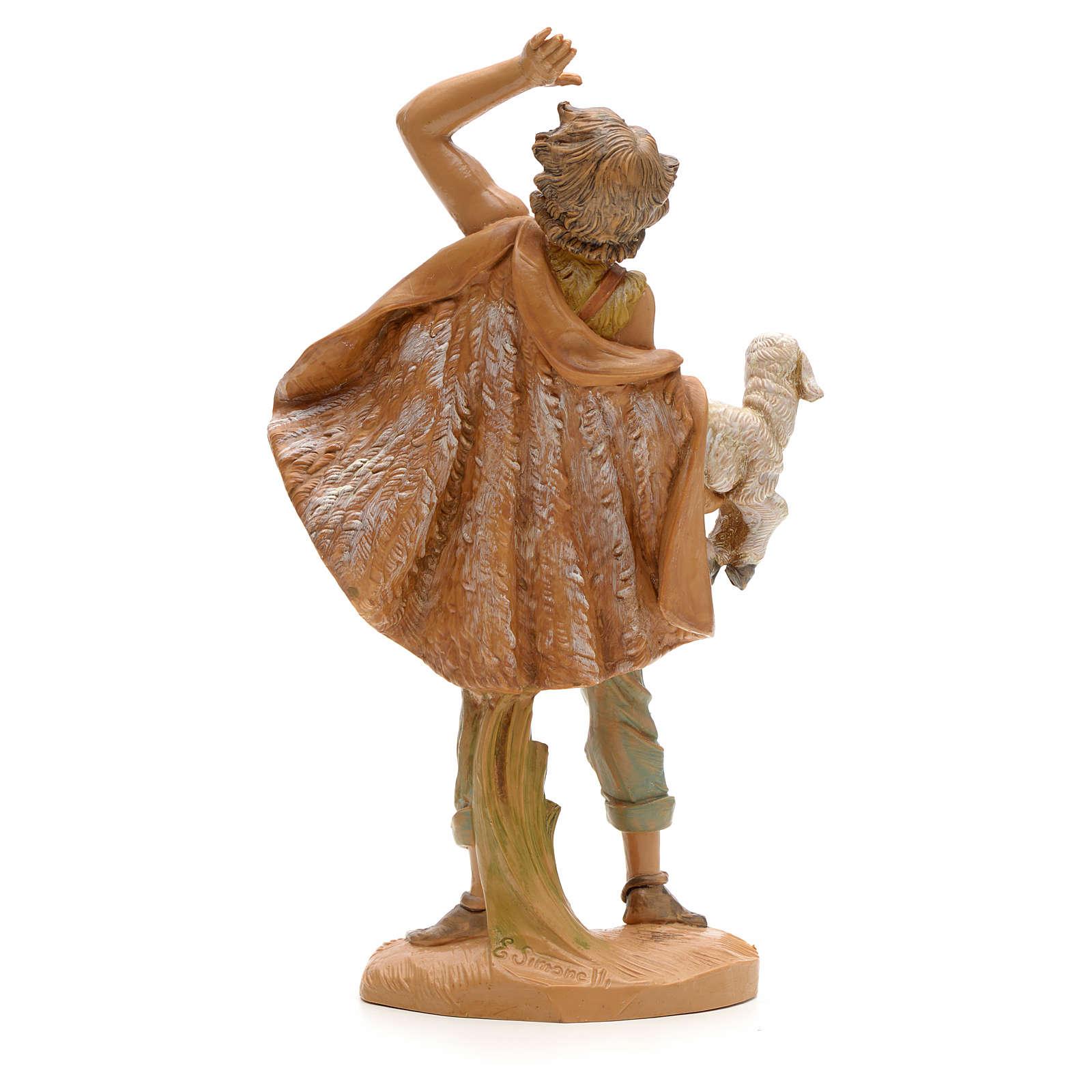 Pastore con pecora 19 cm Fontanini 3