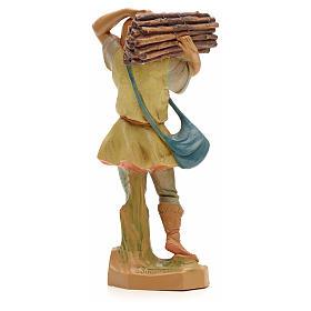 Porteur de bois crèche Fontanini 19 cm s2