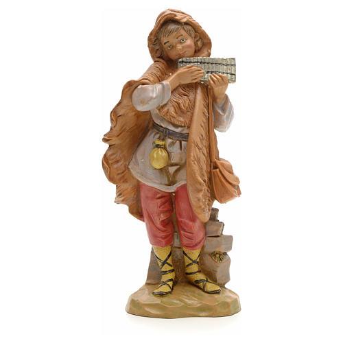 Berger et sa flûte crèche Fontanini 19 cm 1