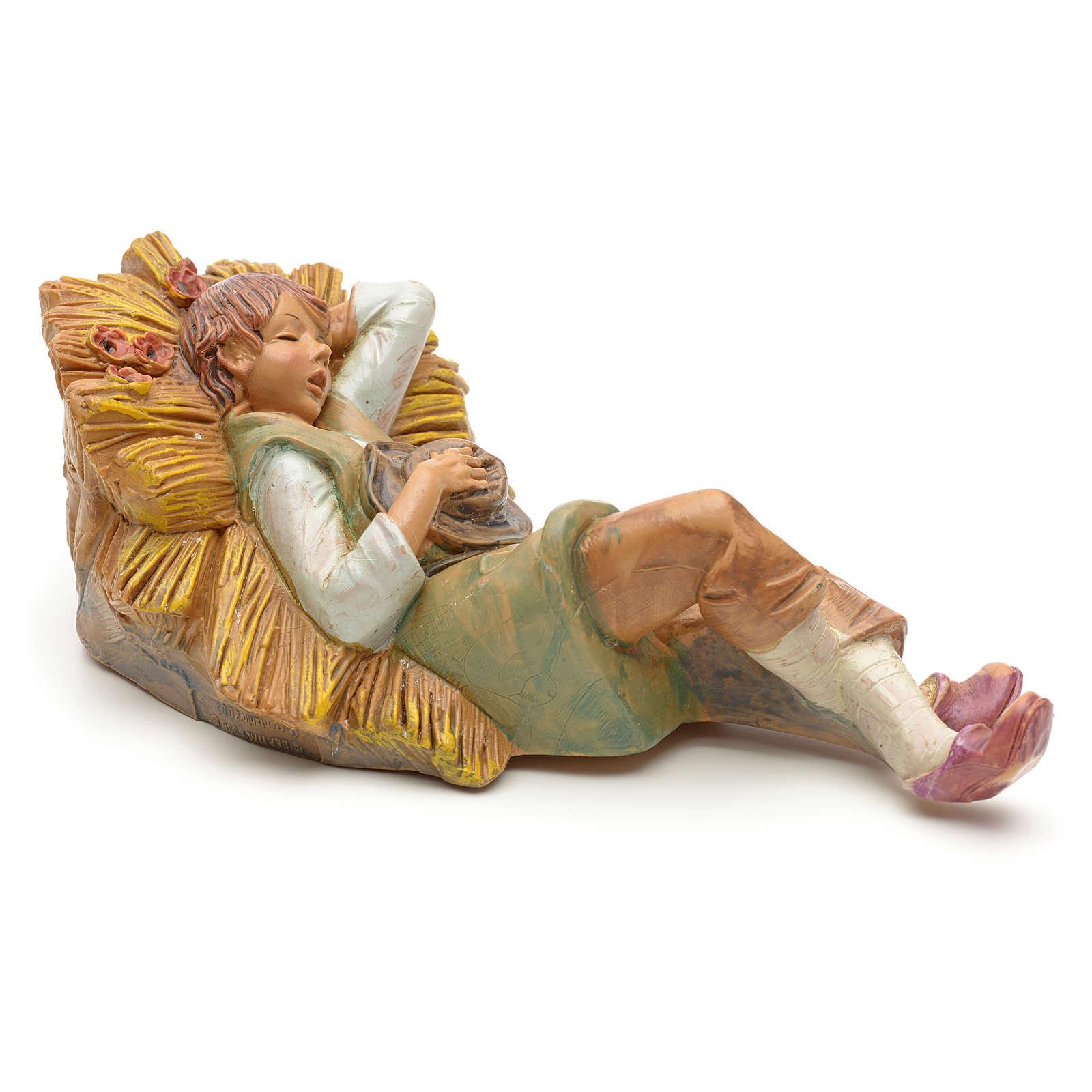 Pastor durmiendo 19cm Fontanini 4