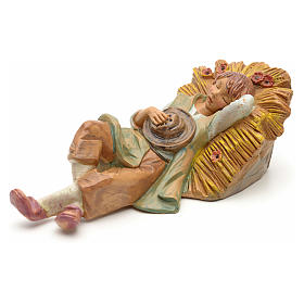 Statue per presepi: Pastore dormiente 19 cm Fontanini