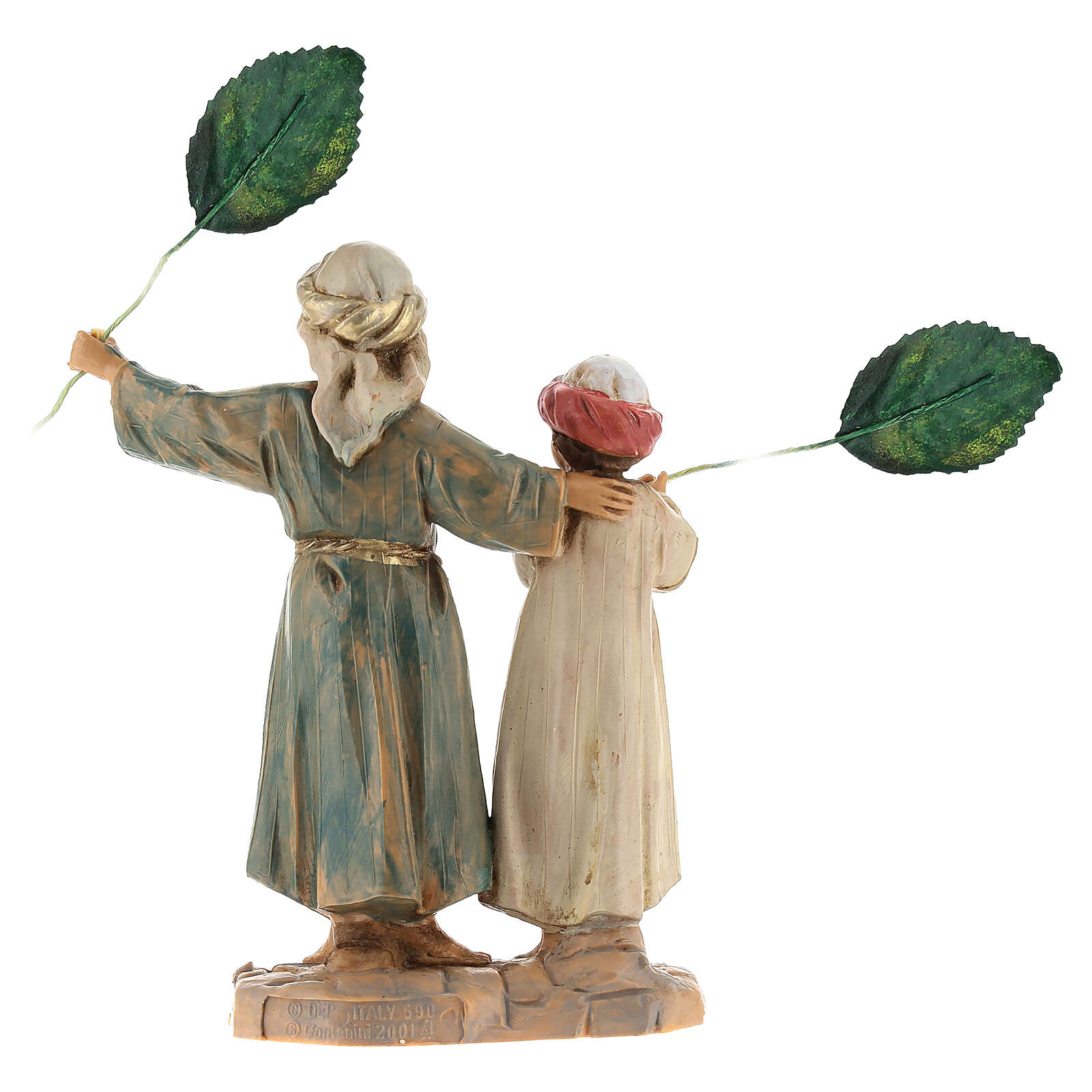 Bambini con palme 12 cm Fontanini 4