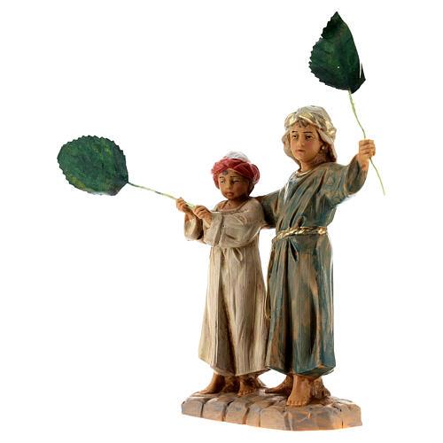 Bambini con palme 12 cm Fontanini 2