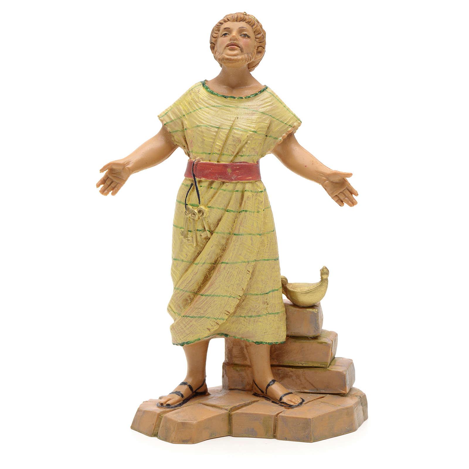 Pastor con llaves 12cm Fontanini 3