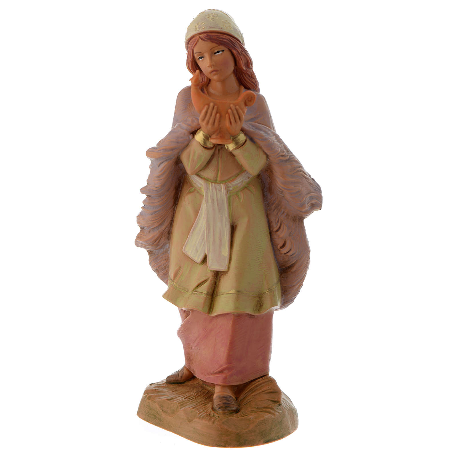 Pastora con lámpara 12 cm Fontanini 4
