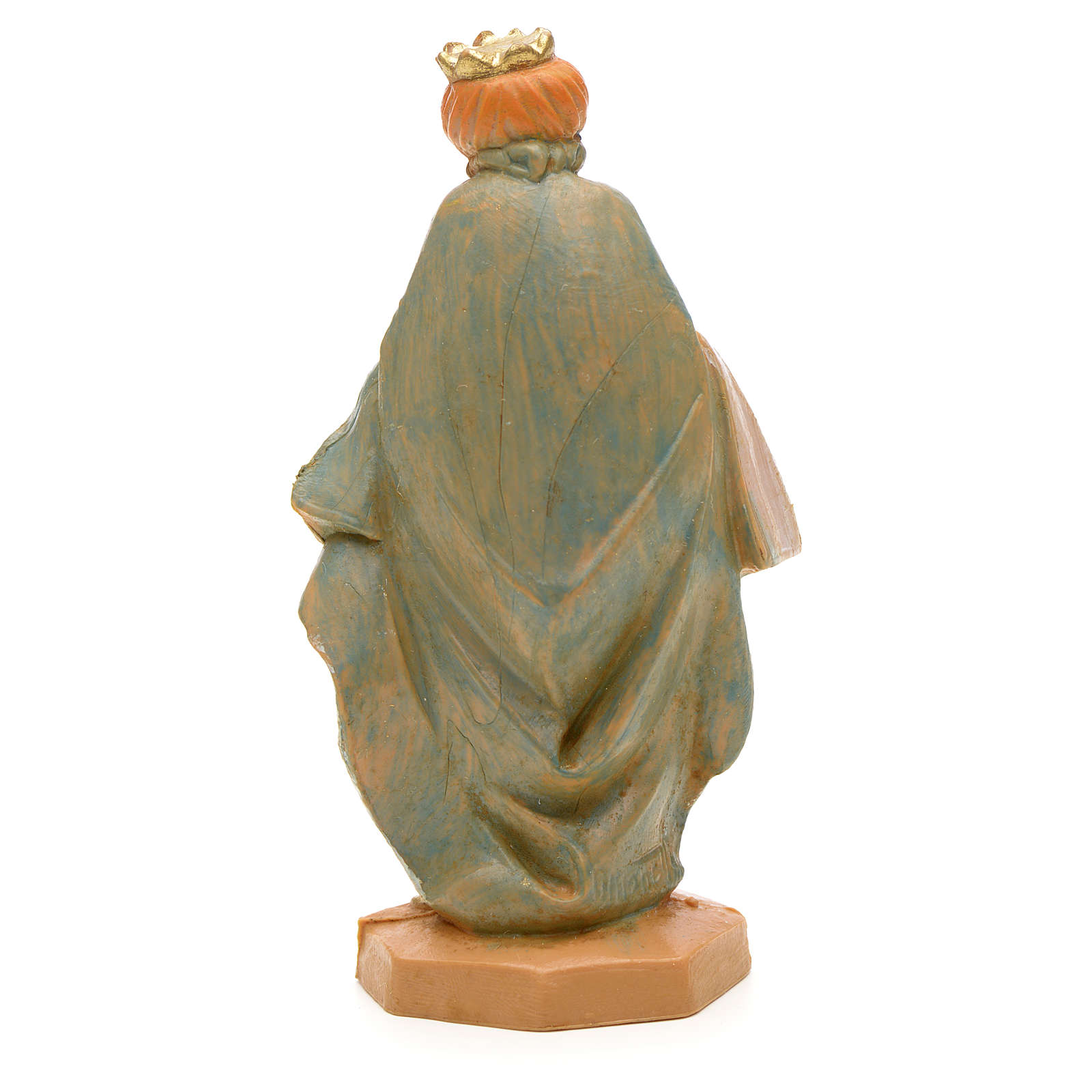 Roi Mage blanc crèche Fontanini 6,5 cm 3