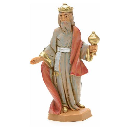 Król Mędrzec biały 6.5 cm Fontanini 1