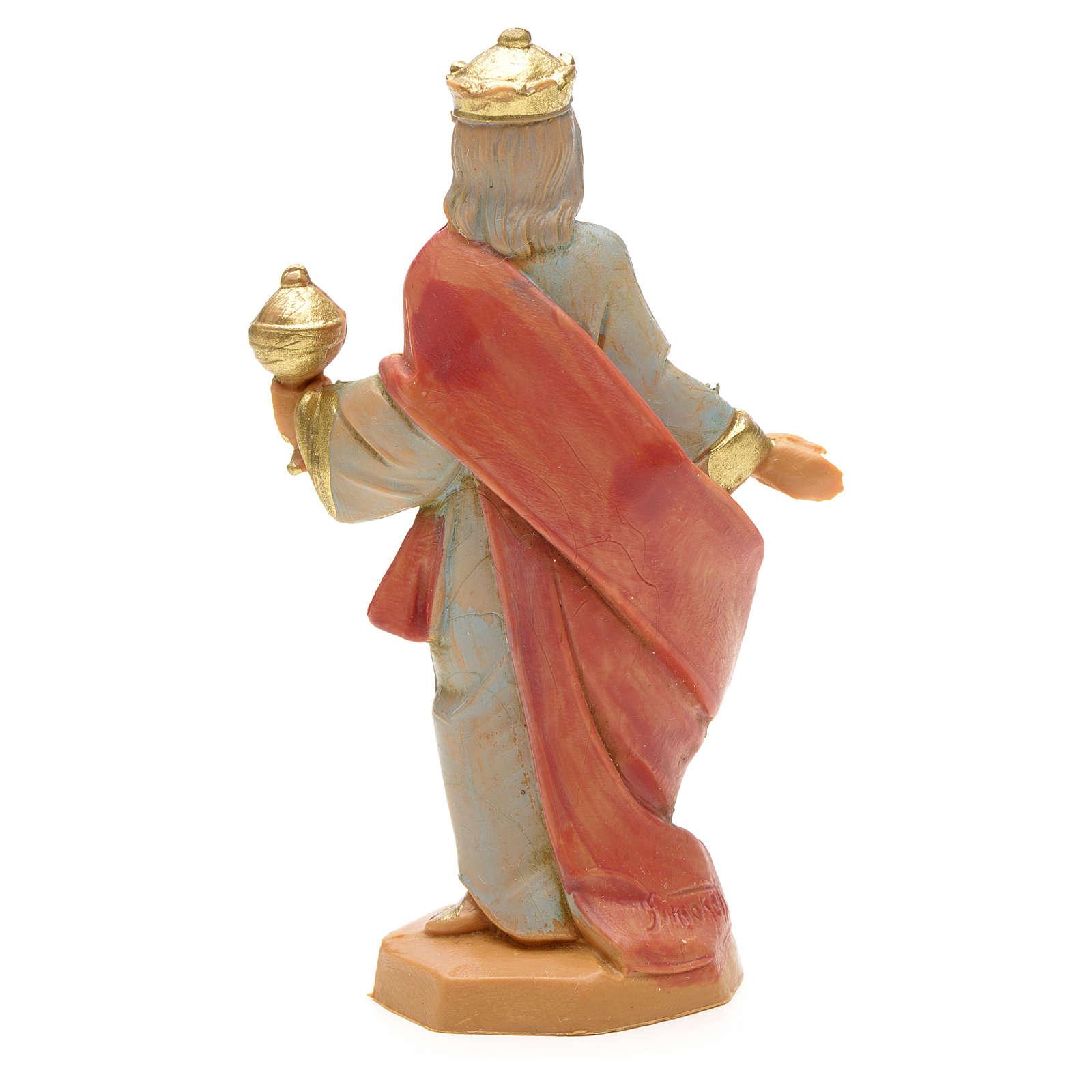 Roi Mage mulâtre crèche Fontanini 6,5 cm 4