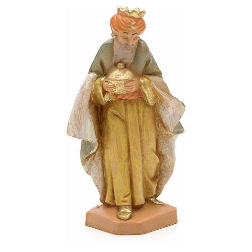 Roi Mage mulâtre crèche Fontanini 6,5 cm 1
